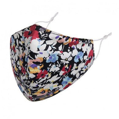 FM056 - Face mask,Large bright floral