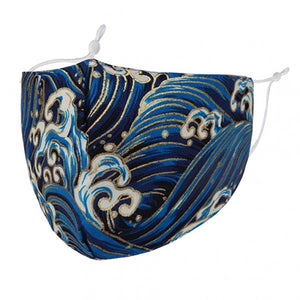 F0076 - ORNATE WAVES FACE MASK