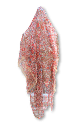 BLSC006 Beautiful 30% Silk Multi coloured scarf-Multi Coloured