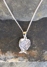 Load image into Gallery viewer, P419 - FOLDED ANGEL WING PENDANT