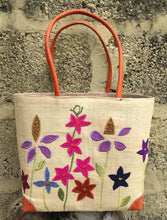 Load image into Gallery viewer, Madaraff Raffia Bag – Small – Cottage Garden Design