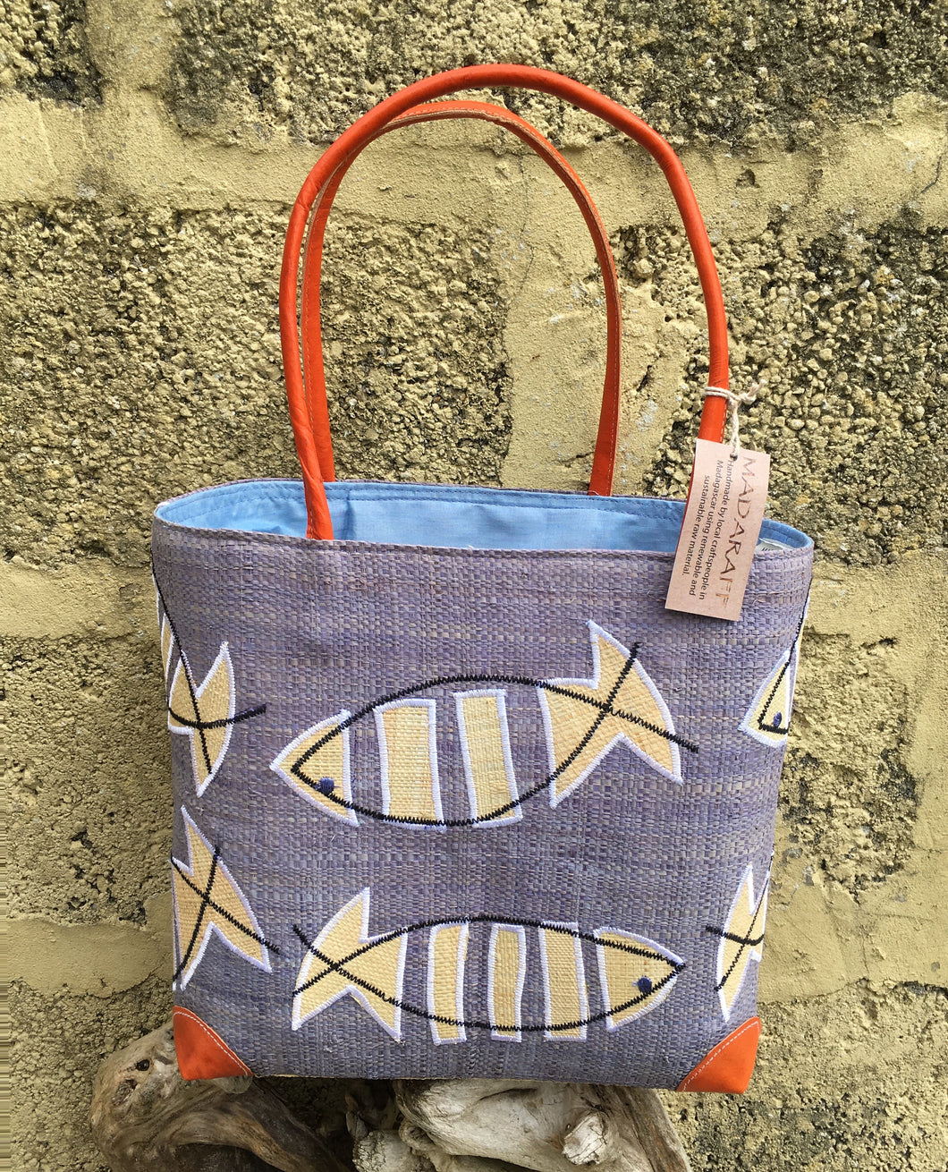 Madaraff Raffia Bag – Medium – Shoal Design