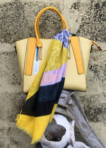 **SPECIAL OFFER** Bag & Scarf - Yellow