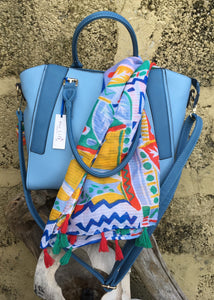 **SPECIAL OFFER** Bag & Scarf - Blue