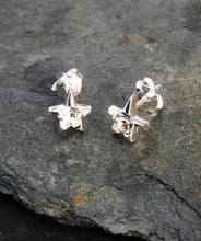 Load image into Gallery viewer, SS260 - SILVER TINY STARS & CZ STUD