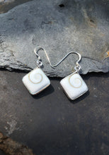 Load image into Gallery viewer, SE159-SQUARE SHIVA SHELL EARRING