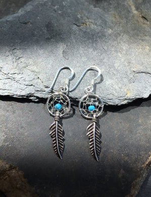 E282 10MM DREAM CATCHER EARRING