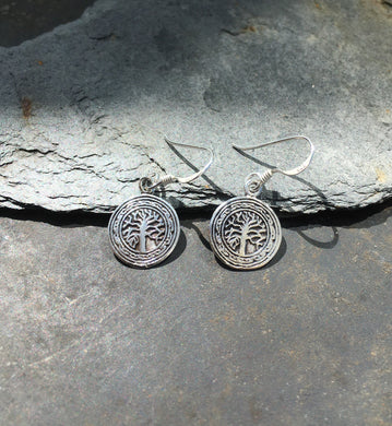 E503-TREE OF LIFE  EARRING