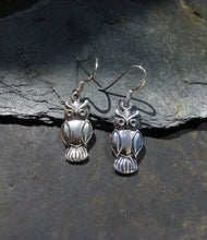 Load image into Gallery viewer, E507 - OWL DROP EARRING