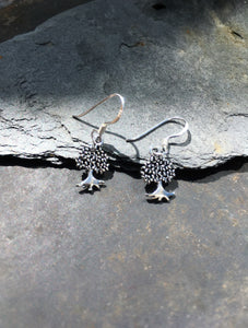 E509 - TREE OF LIFE DROP EARRING