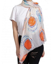 Load image into Gallery viewer, Beau Soleil scarf.....(Beautiful sun) Beige
