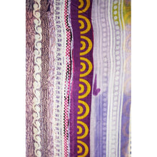 Load image into Gallery viewer, Contenta (Happy) scarf - Purple