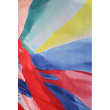 Charger l'image dans la galerie, Abstract Colours Printed Scarf - Red