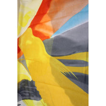 Charger l'image dans la galerie, Abstract Colours Printed Scarf - Yellow