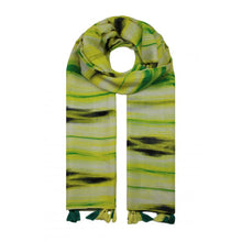 Charger l'image dans la galerie, Waves Colour Tassle Scarf -  Yellow