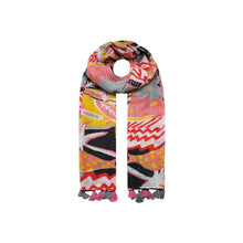 Charger l'image dans la galerie, Hawaiian Flower scarf - Pink