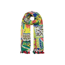Load image into Gallery viewer, Hawaiian Flower scarf - Yellow
