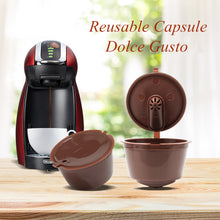 Load image into Gallery viewer, New 3rd Generation Dolce Gusto Coffee Capsules Filter Cup Refillable Reusable Coffee Dripper Tea Baskets Dolci Gusto Capsule