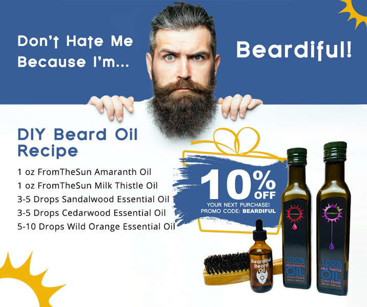 DIY Beardiful Beard Oil