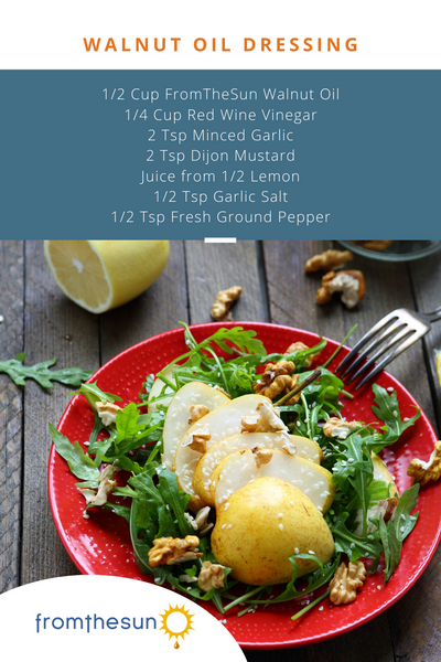 Walnut Oil Salad Dressing