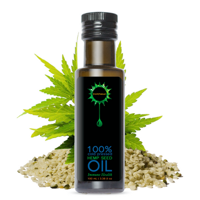 Hemp seed Oil 100% Natural Cold Pressed