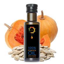 Load image into Gallery viewer, Pumpkin Seed Oil 100% Cold Pressed Natural
