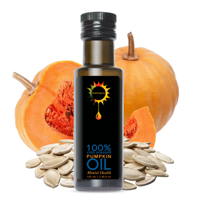 Pumpkin Seed Oil 100% Cold Pressed Natural