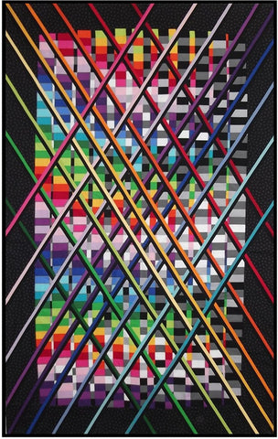 Fractures - quilt by Patti Carey