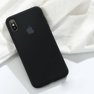 Liquid Silicone Gel Rubber Full Body Shockproof Protective Cover for iPhone