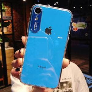 Luxury Original Transparent PC Case For iPhone
