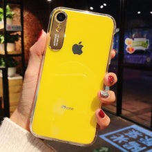 Load image into Gallery viewer, Luxury Original Transparent PC Case For iPhone