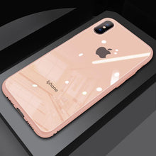 Load image into Gallery viewer, (Christmas Special) New Style Original Liquid Silicone Frame Tempered Glass Cover Phone Case For iPhone phone case articleunion pink IPHONE XS MAX