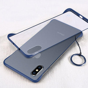 New Generation Frameless Ultra Thin Frosted Phone Case For iPhone phone case Rubili blue IPHONE XS MAX