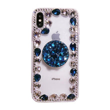 Load image into Gallery viewer, 2019 Hot Selling Luxury Fashion Airbag Diamond Kickstand Phone Case for iPhone phone case Article union