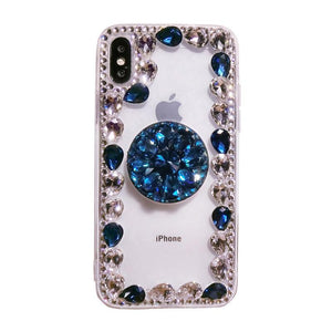 2019 Hot Selling Luxury Fashion Airbag Diamond Kickstand Phone Case for iPhone phone case Article union