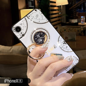 2019 Elegant and Luxurious Time Series iPhone Case Inlaid With More Than 200 Crystals