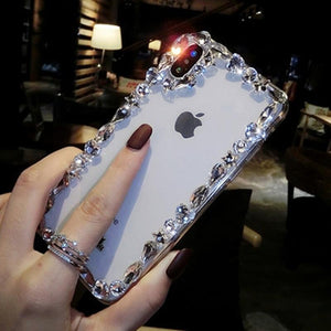 Glamorous Fashion Crystal Bling Case For iPhone