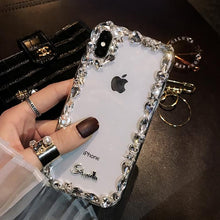 Load image into Gallery viewer, Glamorous Fashion Crystal Bling Case For iPhone