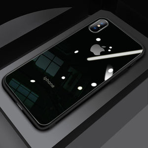 (Christmas Special) New Style Original Liquid Silicone Frame Tempered Glass Cover Phone Case For iPhone phone case articleunion black IPHONE XS MAX