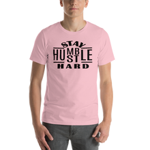 Load image into Gallery viewer, Vibe Luck Stay Humble Hustle Hard Entrepreneur Short-Sleeve Unisex T-Shirt