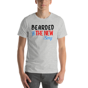 Vibe Luck Bearded Is The New Sexy Short-Sleeve Men's T-Shirt
