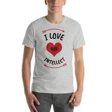 Load image into Gallery viewer, Vibe Luck I Love Her Intellect Couples Matching Short-Sleeve Men's T-Shirt