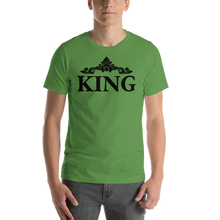 Load image into Gallery viewer, Vibe Luck Royal King Short-Sleeve Men's T-Shirt