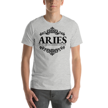 Load image into Gallery viewer, Vibe Luck Royal Aries Zodiac Sign Birthday Short-Sleeve Unisex T-Shirt