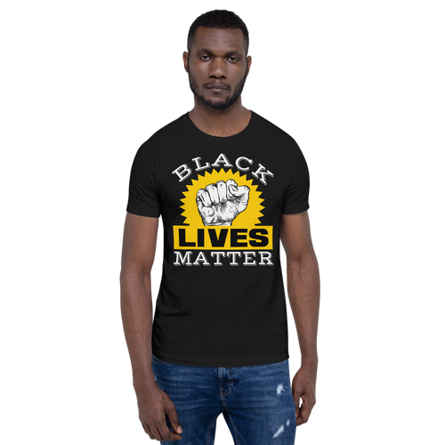 Vibe Luck Black Lives Matter Short-Sleeve Unisex T-Shirt