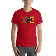 Load image into Gallery viewer, Vibe Luck Dope African Colors Men's Short-Sleeve Unisex T-Shirt