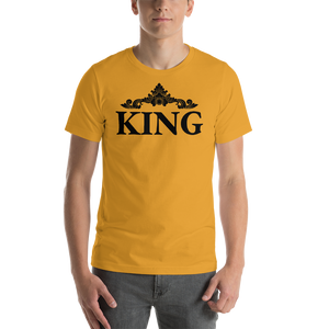 Vibe Luck Royal King Short-Sleeve Men's T-Shirt