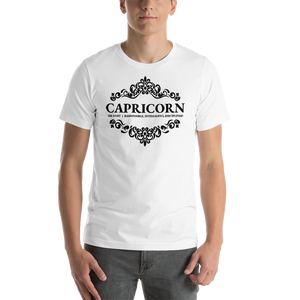 Vibe Luck Royal Capricorn Short-Sleeve Unisex T-Shirt