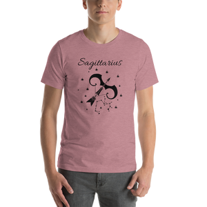 Vibe Luck Sagittarius Archer Zodiac Sign Birthday Short-Sleeve Unisex T-Shirt