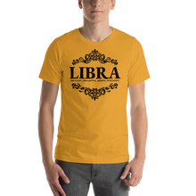 Load image into Gallery viewer, Vibe Luck Royal Libra Zodiac Sign Birthday Short-Sleeve Unisex T-Shirt